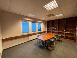 Bibliothek Nussbaumdekor