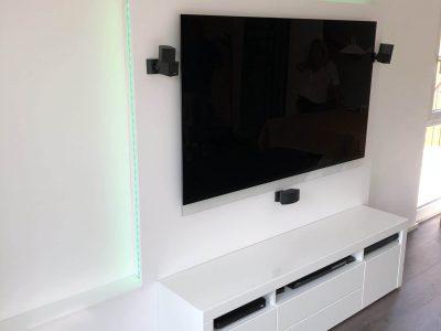 TV Paneel weiß 4