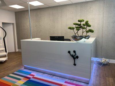 Möbelfertigung für gewerbliche Büros